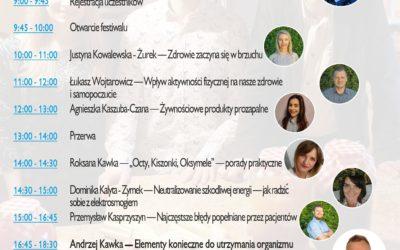 Festiwal Pełnia Zdrowia w Chorzowie – 27 marca