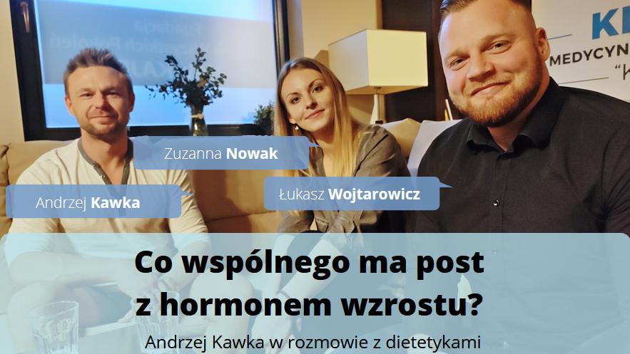 Hormon wzrostu – na co wpływa? Sekrety długowieczności. Andrzej Kawka z dietetykami [WIDEO]