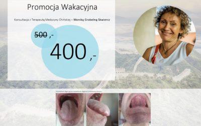 Konsultacja z Tradycyjnej Medycyny Chińskiej -20% [PROMOCJA]