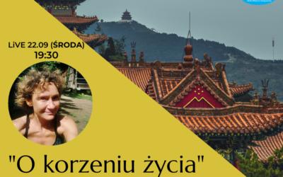 """""""O korzeniu życia, czyli nerkach"""" Monika Grobelna-Skwiercz [LIVE]"""
