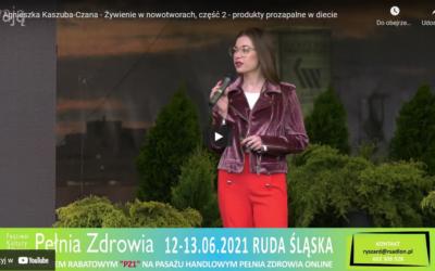 Agnieszka Kaszuba-Czana – Żywienie w nowotworach, część 2 – produkty prozapalne w diecie [WYKŁAD]