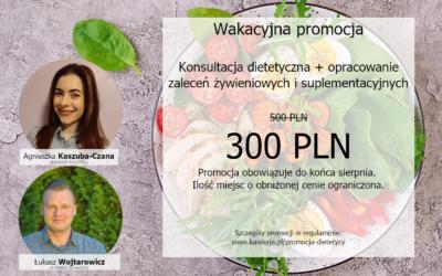 Konsultacja dietetyczna -40%  [PROMOCJA]